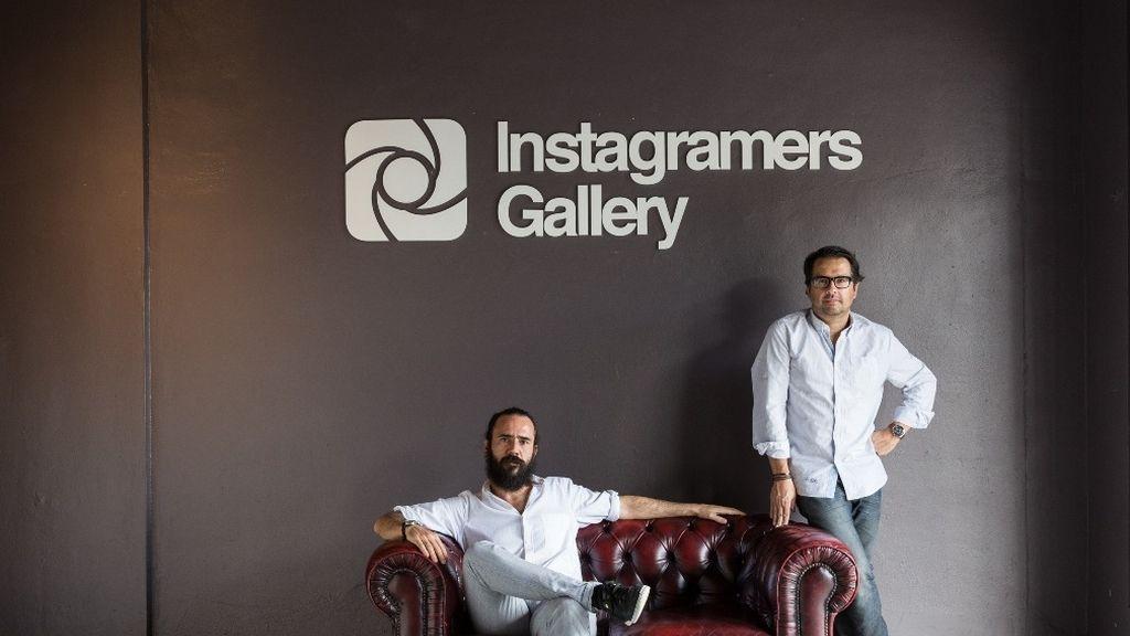 Javier Martínez y Phil González, creadores de @IGers Gallery