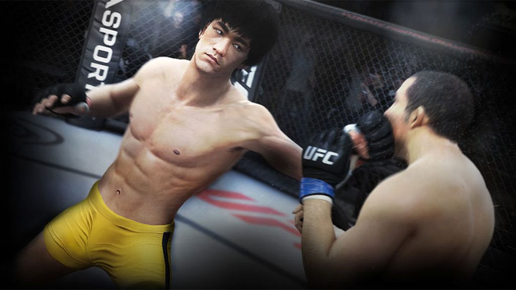 Bruce Lee,Ultimate Fighting Championship,EA Sports,videojuego
