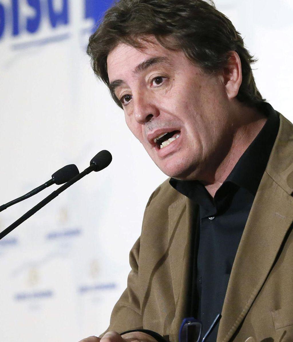 Luis García Montero, candidato de IU para las autonómicas de 2015