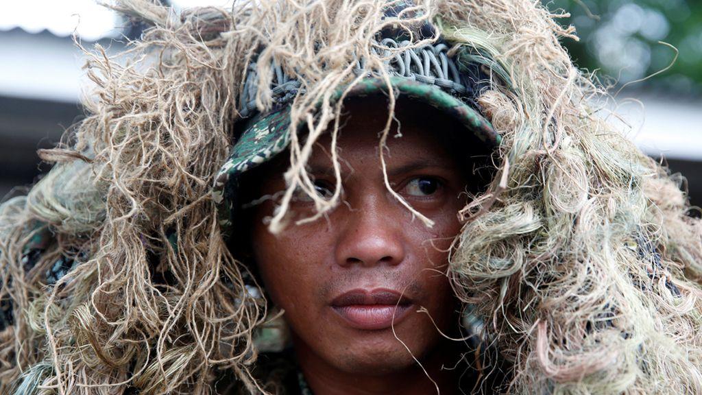 Francotirador filipino