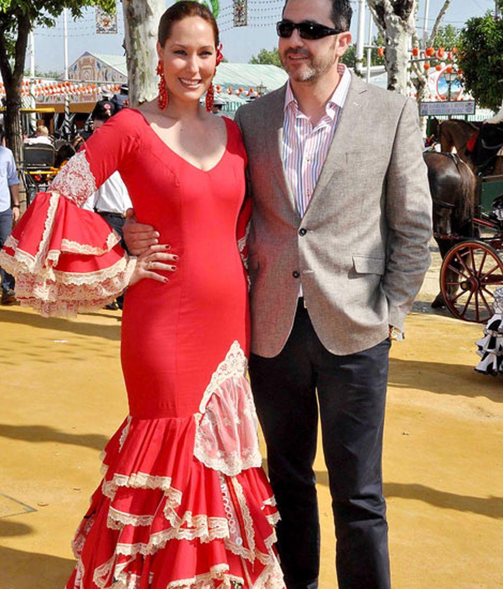Chayo Mohedano con su marido Andrés Fernández
