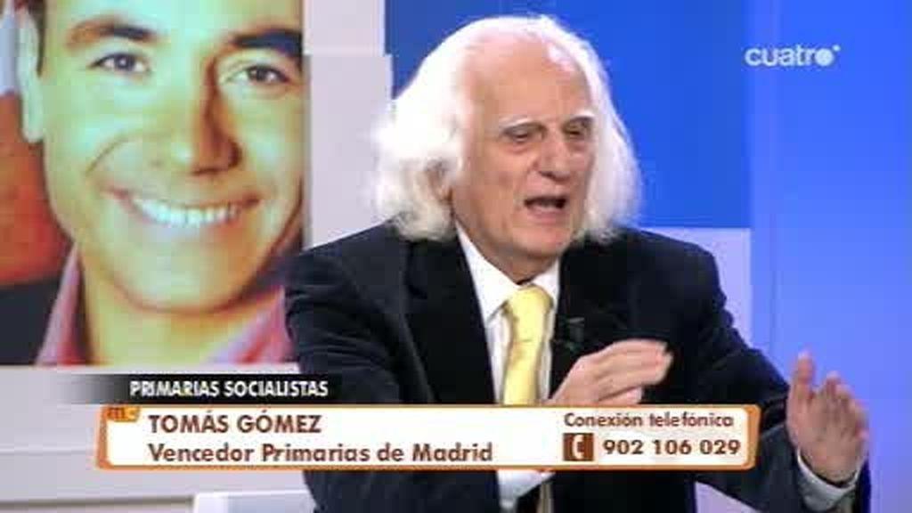 Entrevista a Tomás Gómez