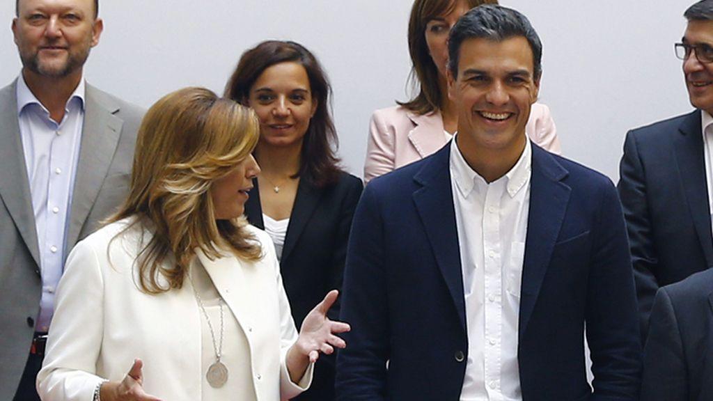 Pedro Sánchez preside el Consejo de Política Federal del PSOE
