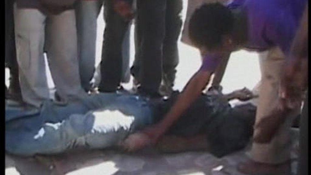 Una víctima más en Haití