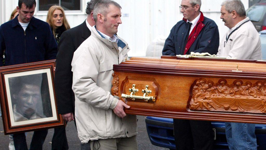 Entierro de Jean McConville en Irlanda del Norte
