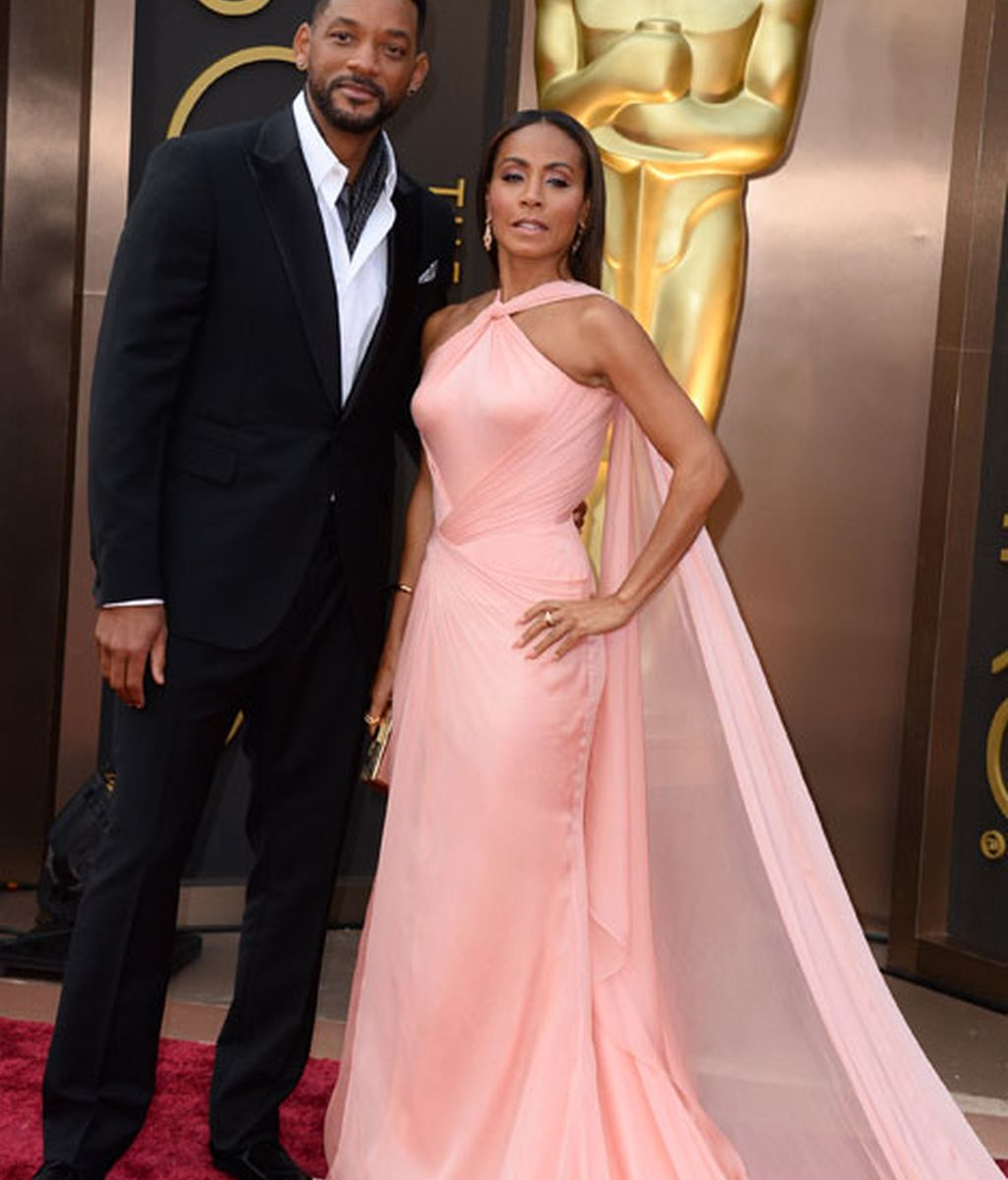 Will Smith y Jada Pinkett, ella de Carolina Herrera