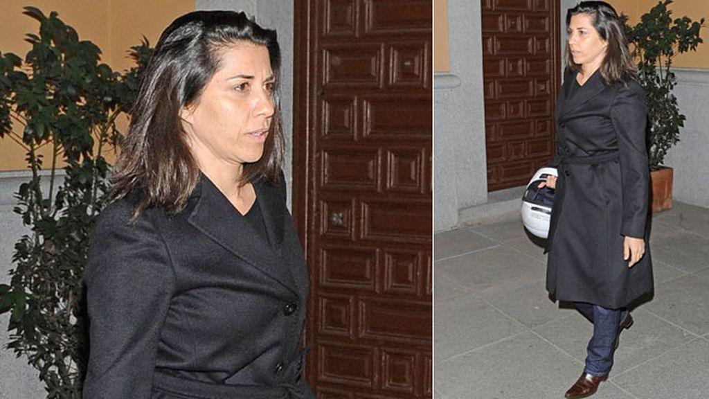 La actriz y amiga Alicia Borrachero