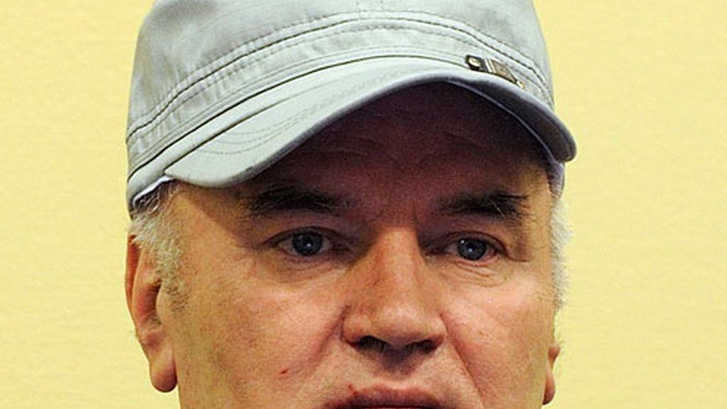 El ex comandante y presunto criminal de guerra serbo-bosnio Ratko Mladic.
