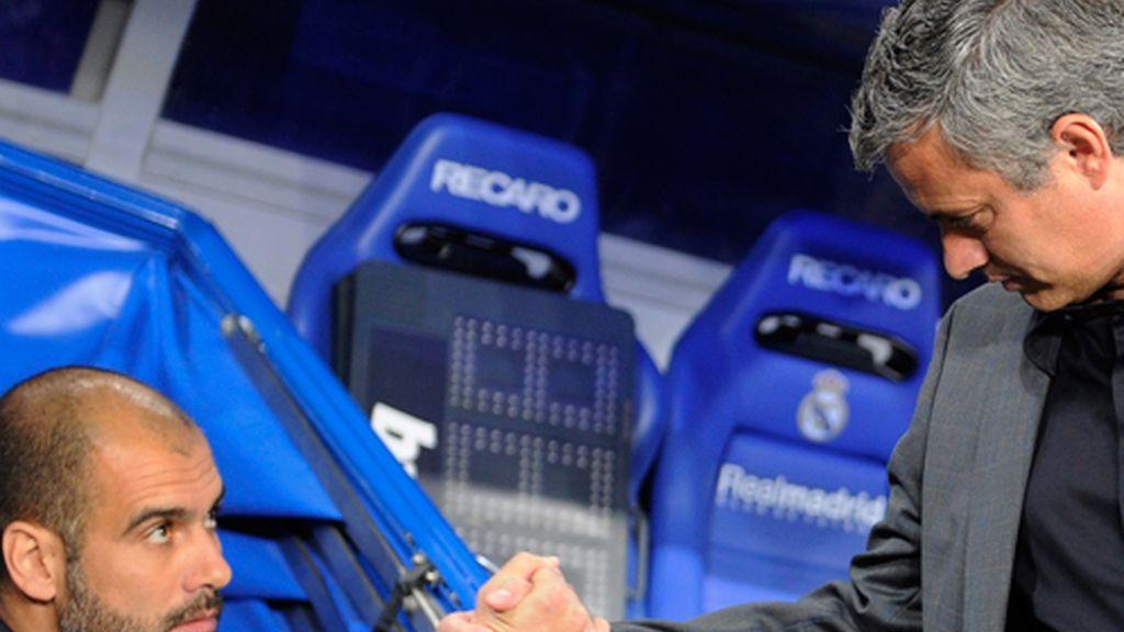 El pulso entre Mourinho y Guardiola