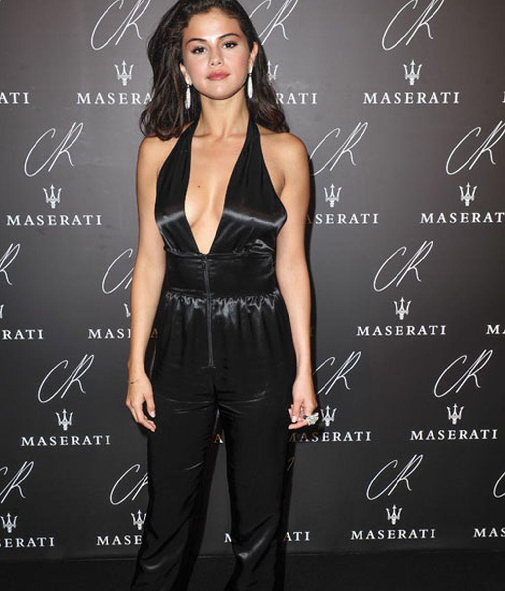 Justin Bieber, pareja de Selena Gómez, también estuvo en el evento