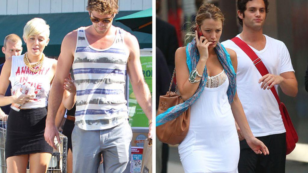 Miley Cyrus y Blake