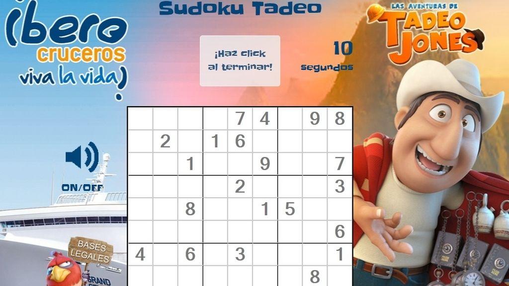 Gana un Iberocrucero con el Tadeo Sudoku