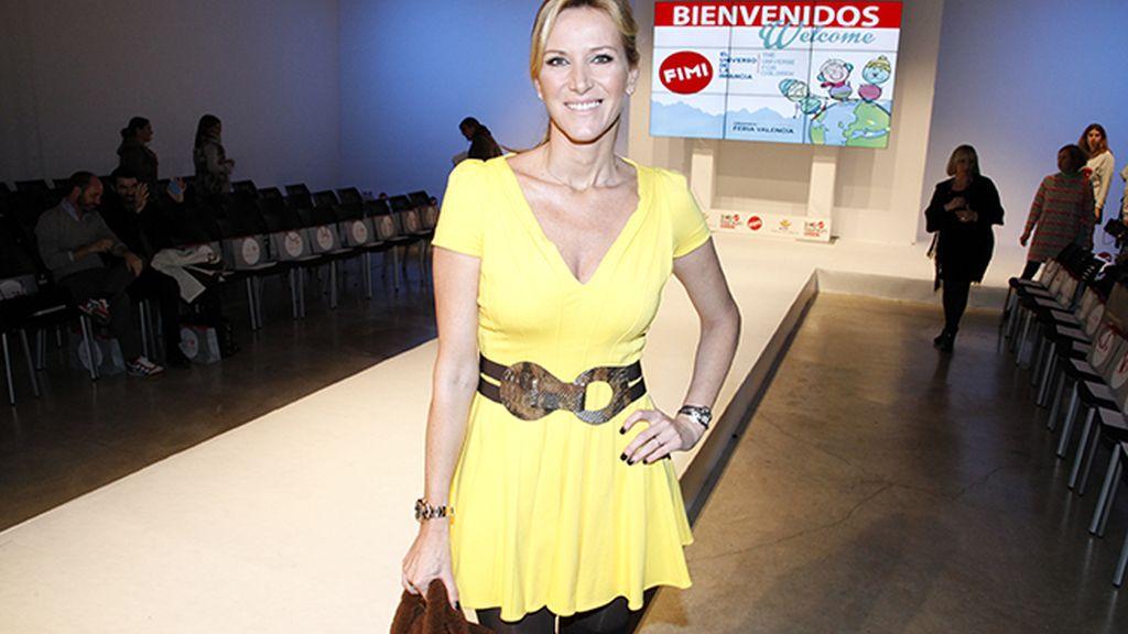 Alejandra Prat muy guapa con este vestido de Plein Sud