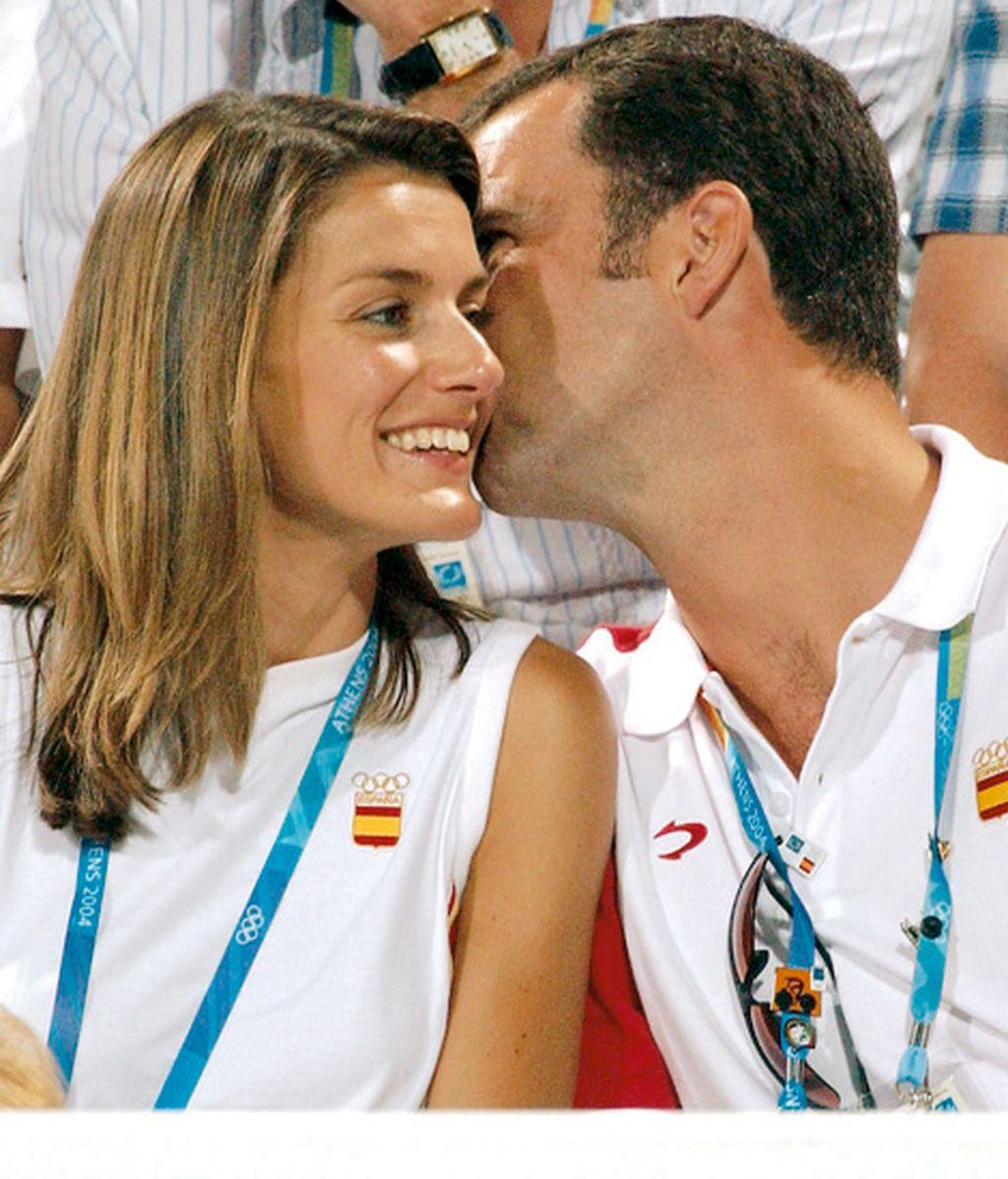Los príncipes de las olimpiadas de Atenas (agosto de 2004)