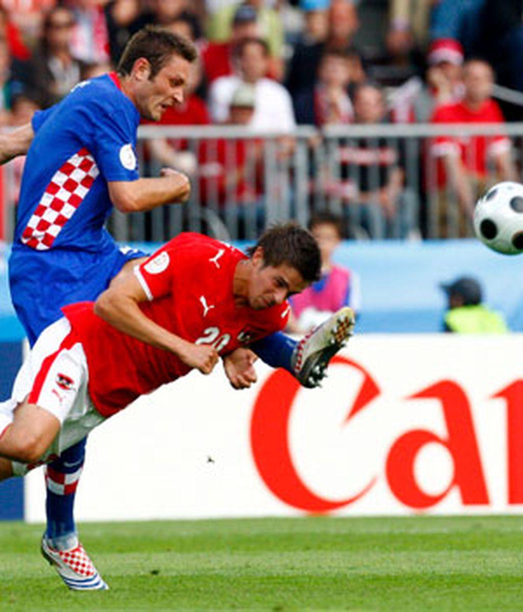 Croacia venció de penalti. Foto: EFE
