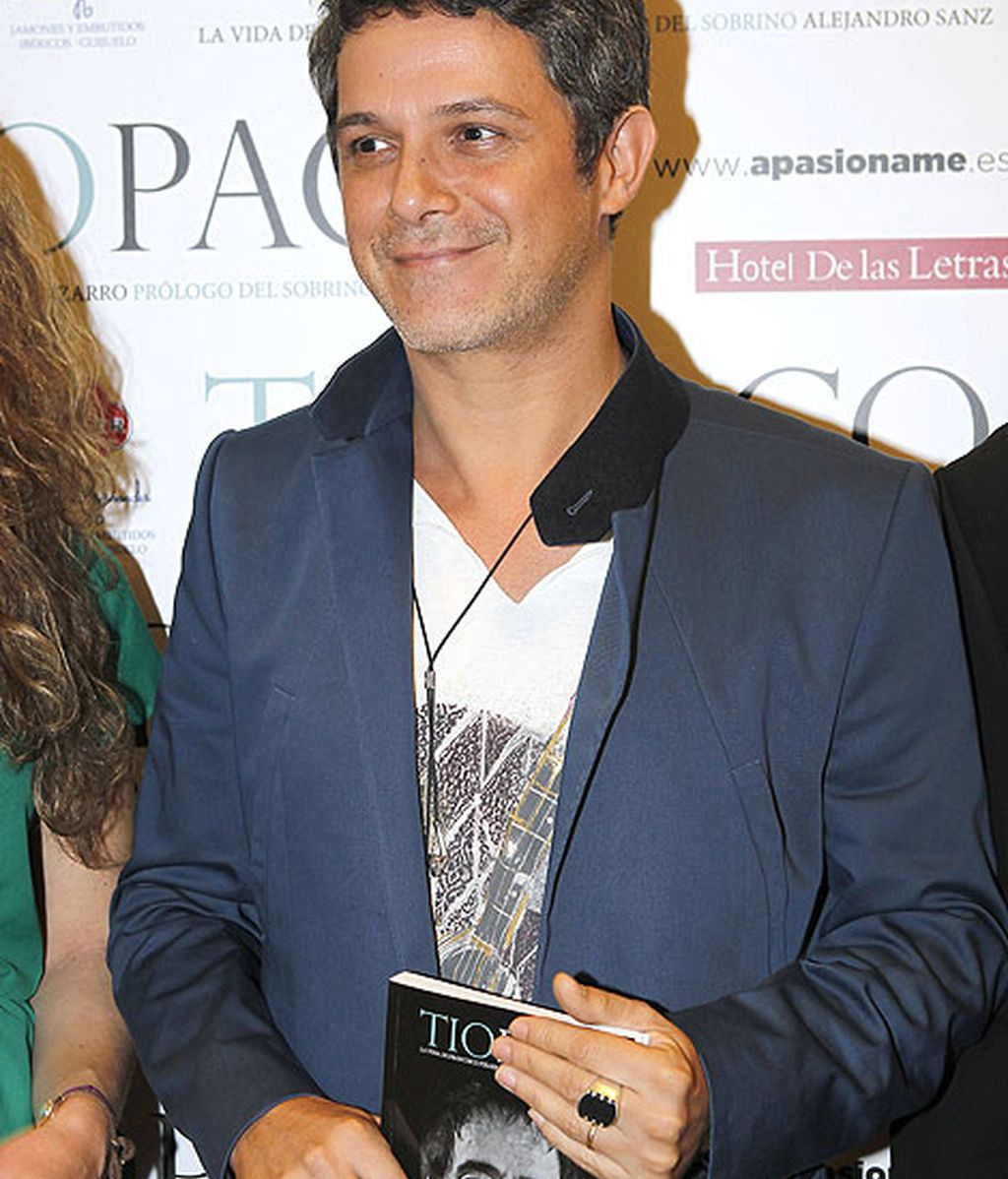 Alejandro Sanz ha escrito el prólogo del libro 'Tío Paco'