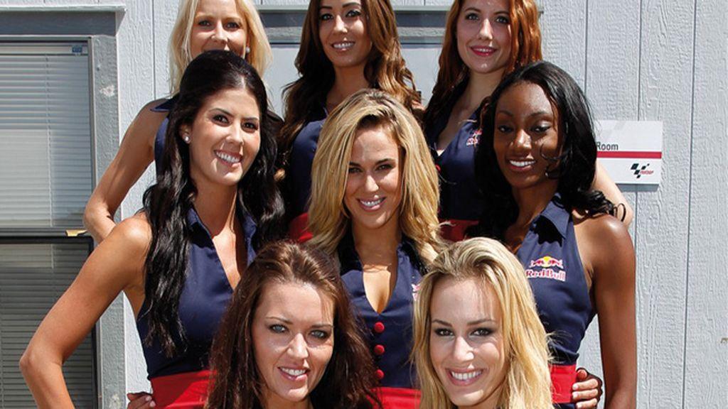 Las chicas del Paddock en Laguna Seca e Indianápolis