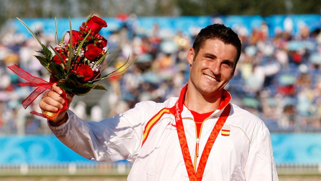 David Cal, medalla de plata en Pekín 2008
