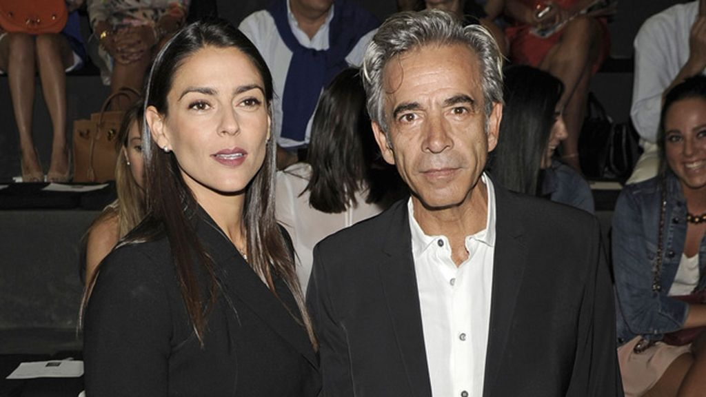 El actor Imanol Arias y su novia Irene Meritxel