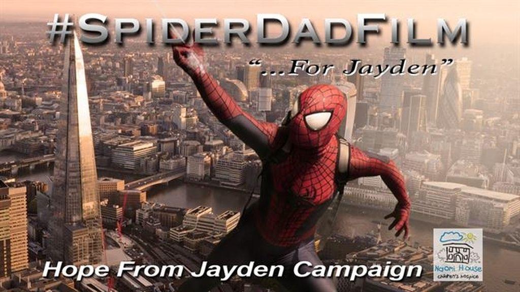 """Un padre realiza un emotivo corto de """"Spiderman"""" en memoria de su hijo"""