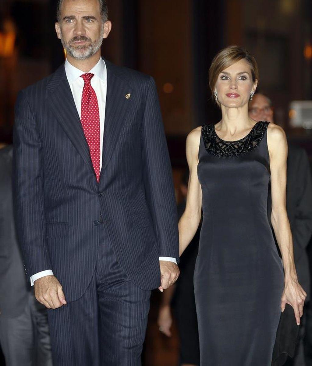 Los Reyes de España asisten al XXIII Concierto Premios Príncipe de Asturias