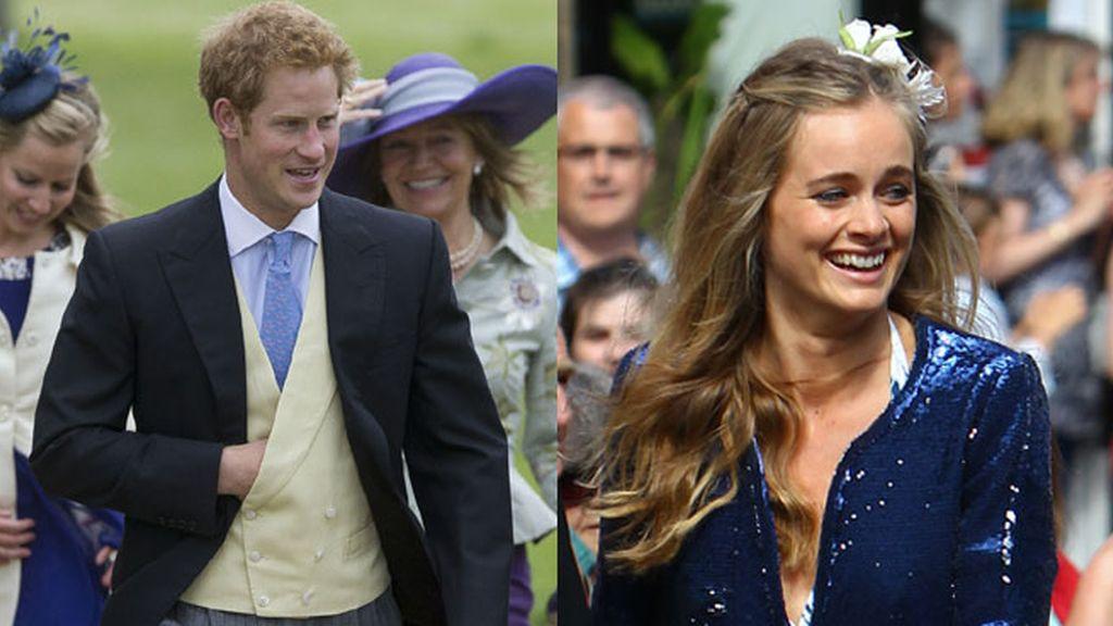 El Príncipe Harry y su novia Cressida Bonas