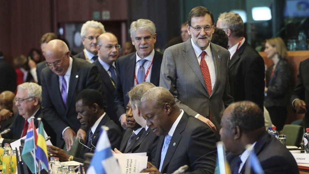 Rajoy en la cumbre entre la Unión Europea y África