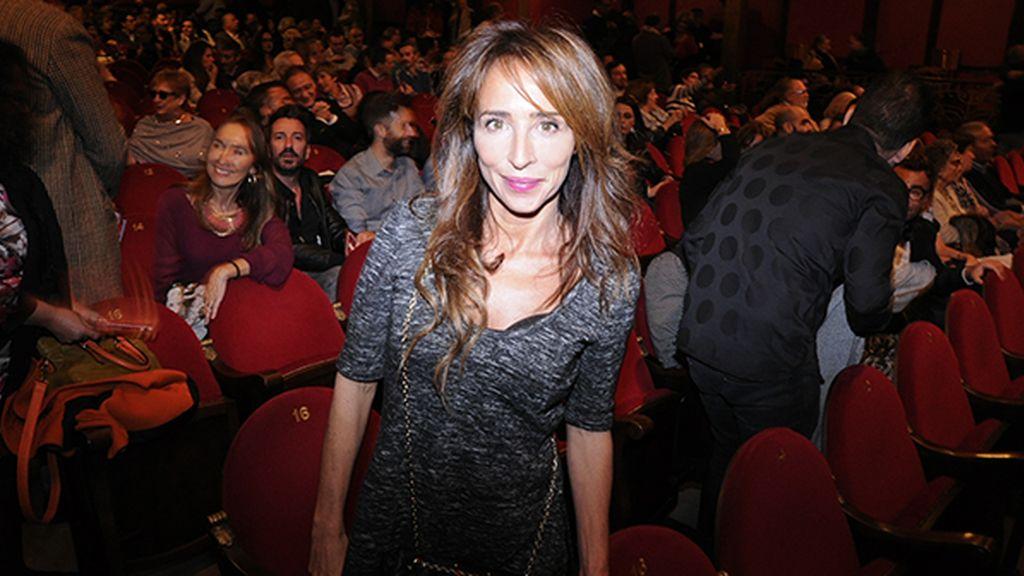 María Patiño no dudó en apoyar el estreno de su gran amigo Jorge Javier Vázquez