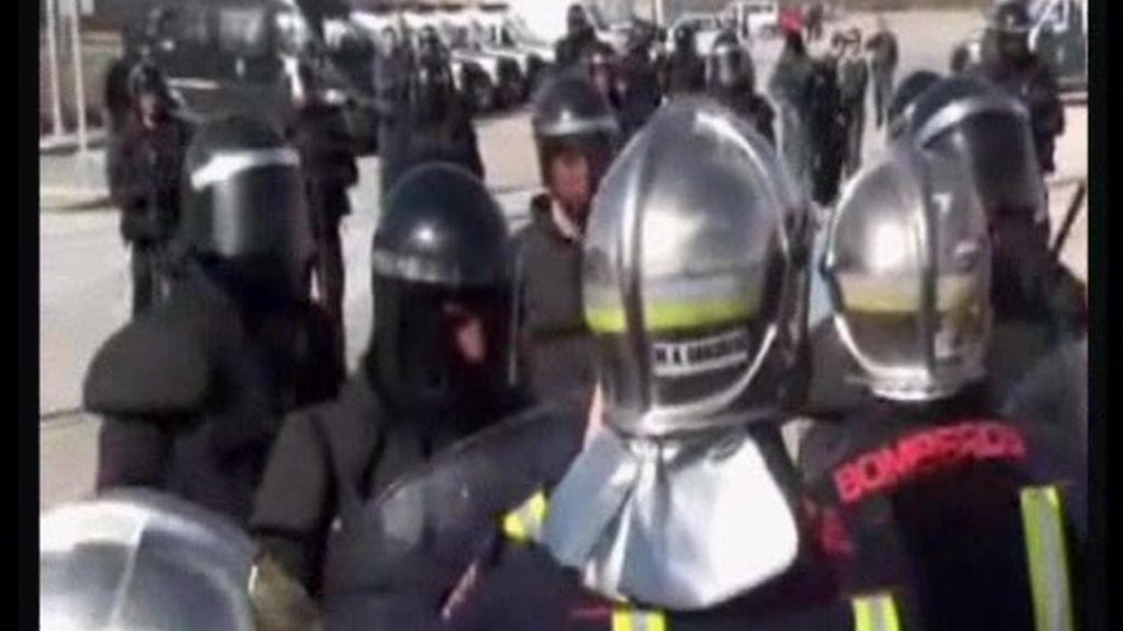La versión de los bomberos