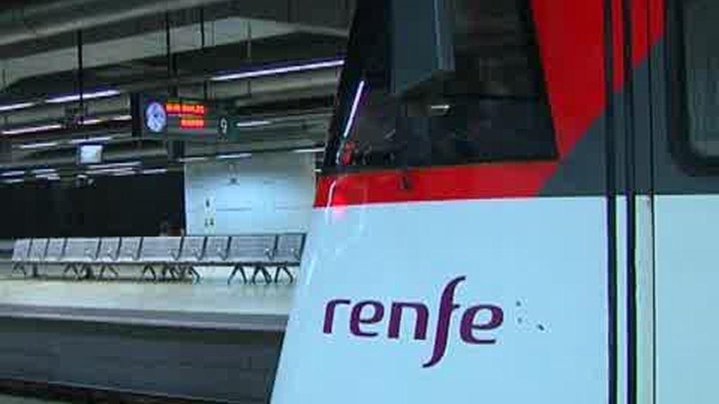 Caos ferroviario en Barcelona por la tormenta