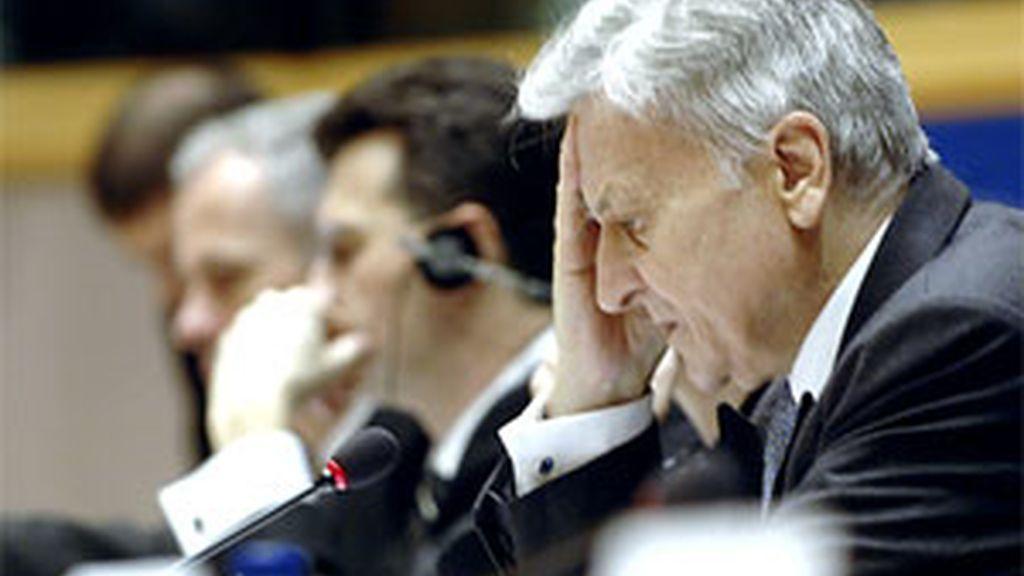 Jean-Claude Trichet en una imagen de archivo durante una sesión del BCE. FOTO: EFE