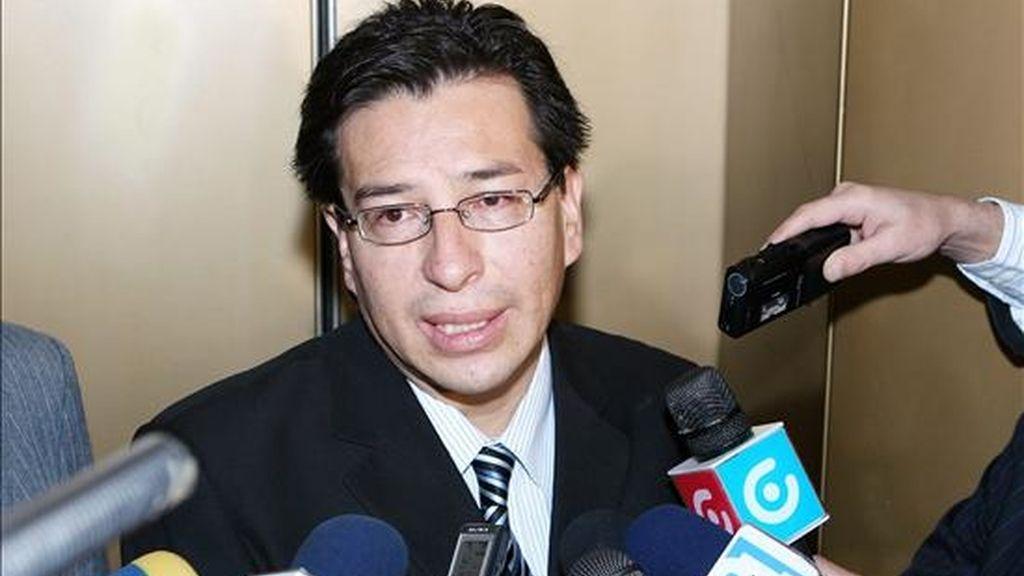 El canciller ecuatoriano apuntó que si el fallo de la CAN sobre las medidas arancelarias aprobadas por Quito es perjudicial para el país, Ecuador tendría que revisar su participación en el grupo. EFE/Archivo