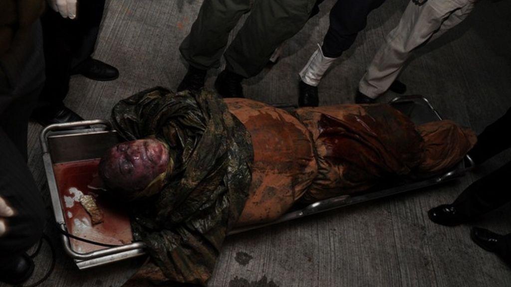 El cadáver de 'Mono Jojoy'