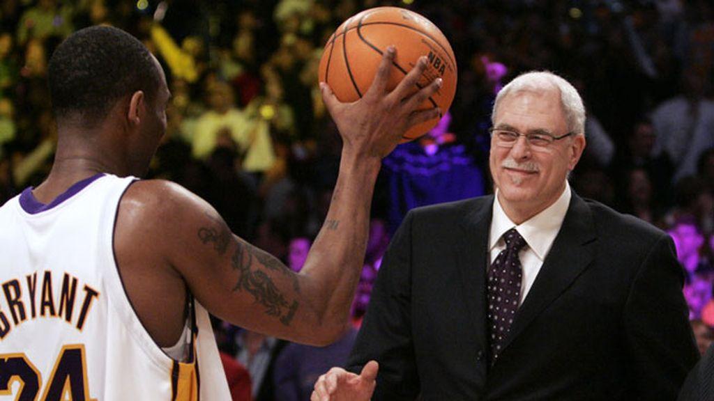 Phil Jackson sacó la mejor versión de Kobe y juntos ganaron los cinco anillos