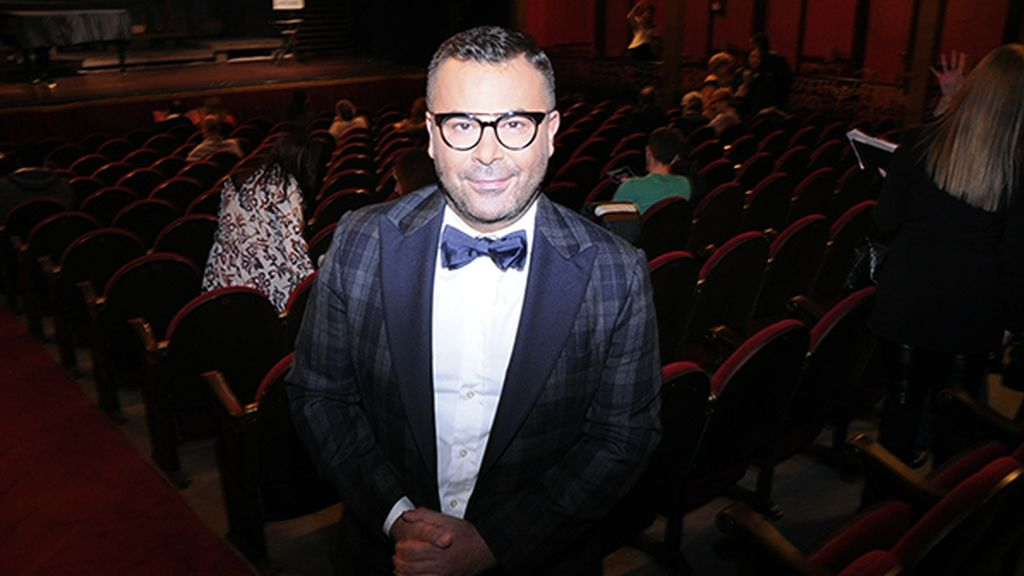 El gran protagonista de la noche y productor de la obra, Jorge Javier Vázquez