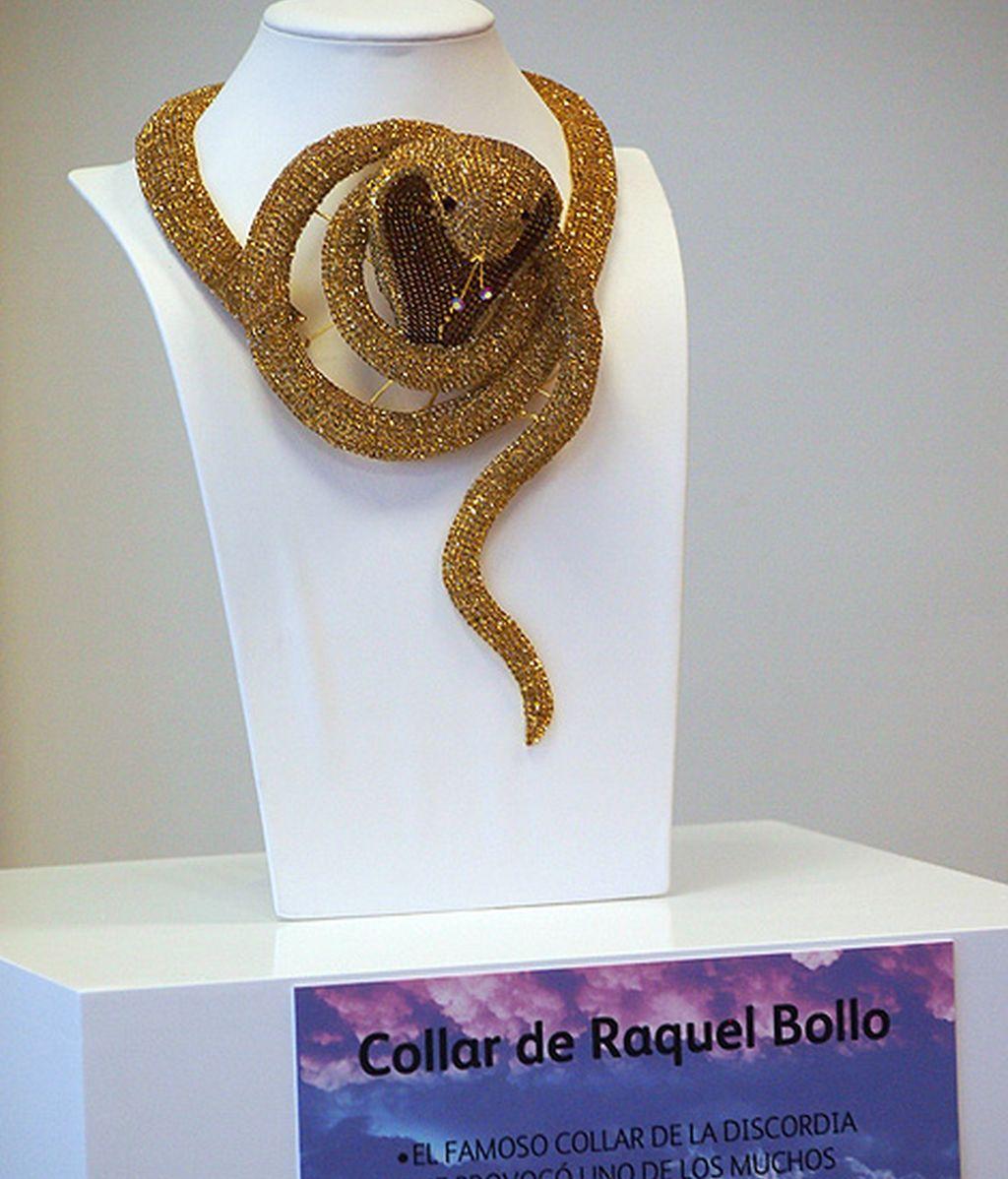 El collar de Raquel Bollo (motivo de disputa con su exnuera, Aguasantas)