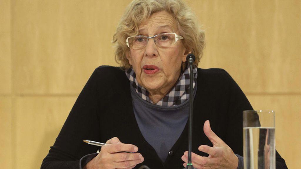 Manuela Carmena da explicaciones sobre el incidente de los titiriteros