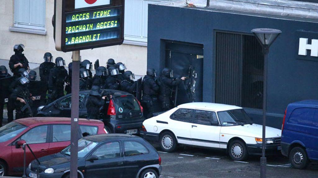 Asalto policial a una tienda judía secuestrada en Paris