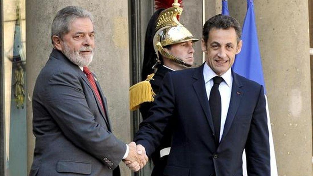 El presidente brasileño, Luiz Inácio Lula da Silva, llegará este domingo a Ginebra, donde el lunes se reunirá con su homólogo francés, Nicolás Sarkozy. EFE/Archivo
