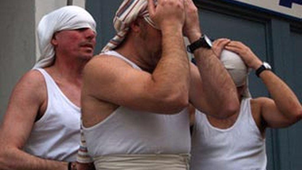 Los costaleros, sin lesiones. Vídeo: Informativos Telecinco