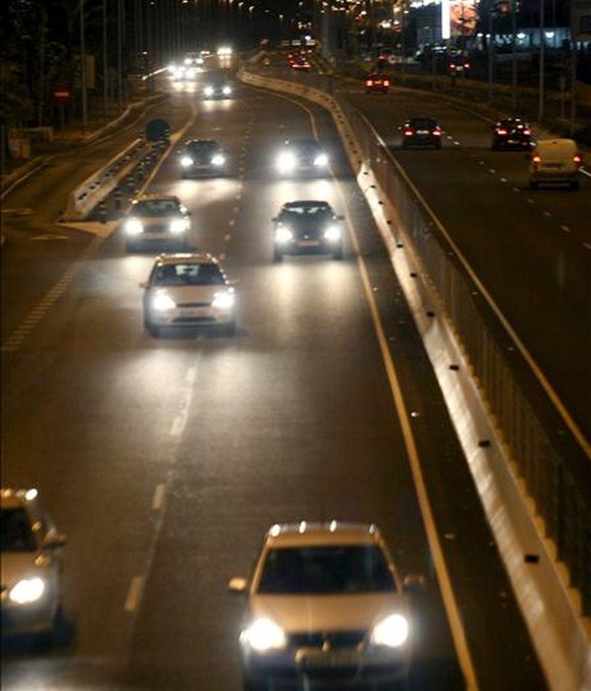 Aspecto de la Nacional 332 a la altura de Torrevieja en una jornada en la que la normalidad es la tónica general en las carreteras en la jornada en la que ha tenido lugar la operación especial de tráfico con motivo del Puente de la Constitución. EFE