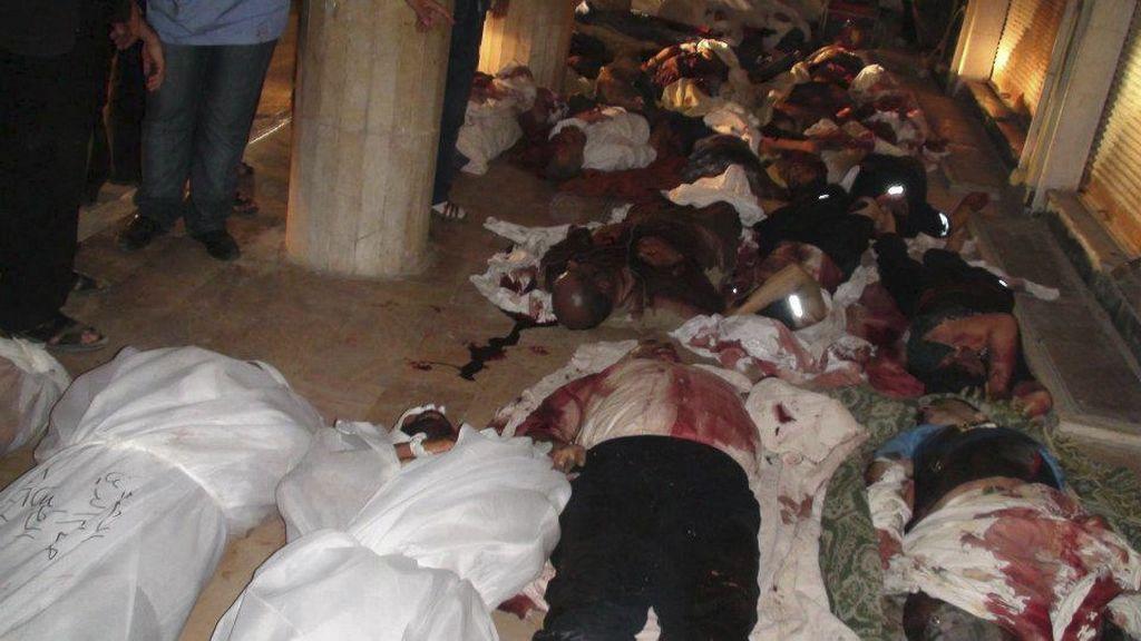 Siria bombardea Douma