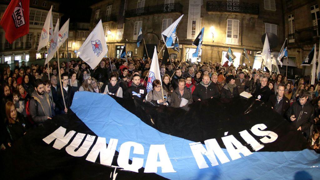 Manifestaciones de 'Nunca Máis' en Galicia