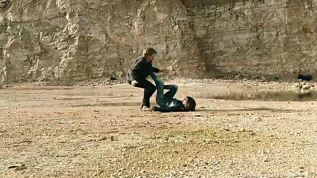 Valeria, a punto de matar a Damián