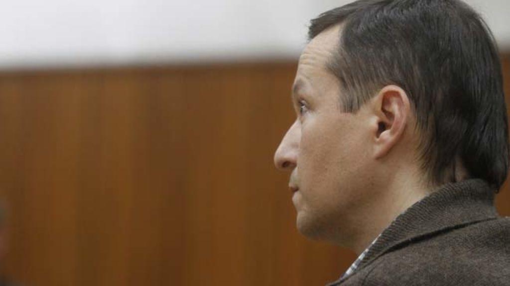 José Bretón en el juicio por maltrato a su hijo José