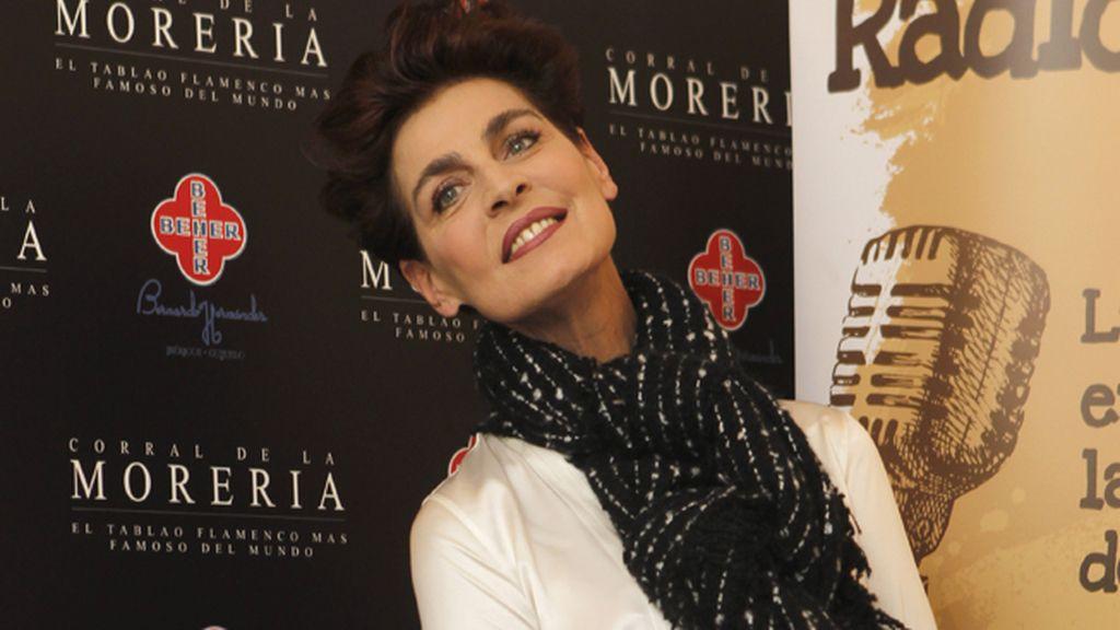 Antonia dell'Atte posa antes de entrar al Corral de la Morería
