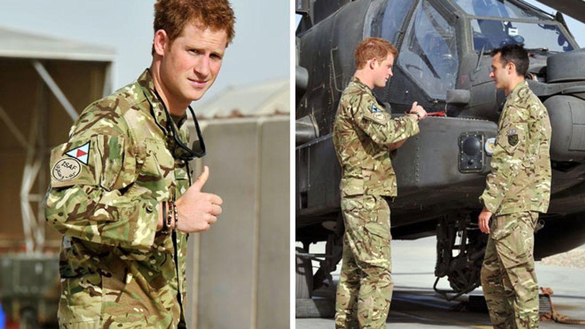 El príncipe Harry vuelve a cumplir su deber tras las vacaciones