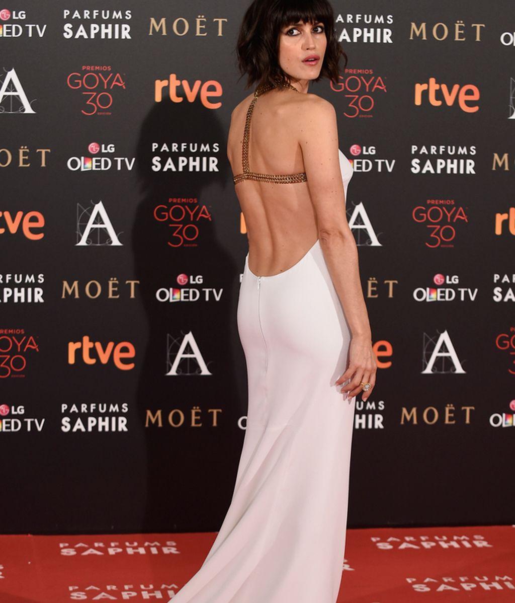 Nerea Barros con vestido de Stella McCartney