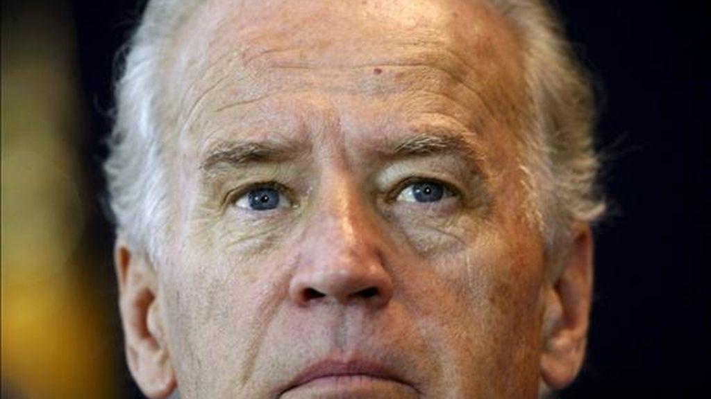 """Biden se refirió hoy a Corea del Norte como """"una fuerza desestabilizadora en la región"""". EFE/Archivo"""