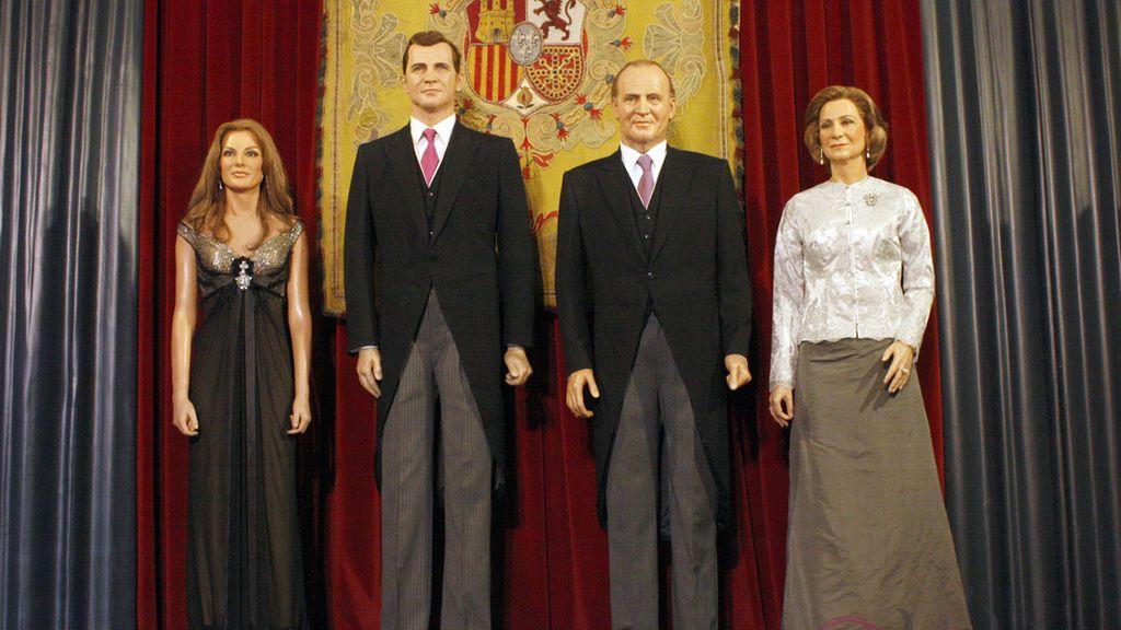 Museo de Cera de Madrid,estatua nueva princesa de Asturias,